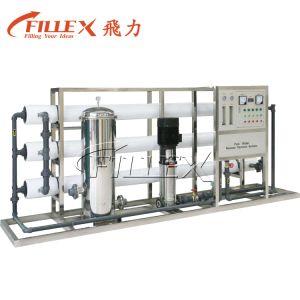 Het automatische 1t-30t Galss Systeem van de Filtratie van het Water van de Vezel RO