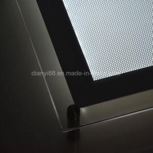 Высокое качество Ультраплоский светодиодный акриловый блок освещения входа