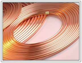 ASTM B280 Soft temperar bobina panqueca de refrigeração do tubo de cobre