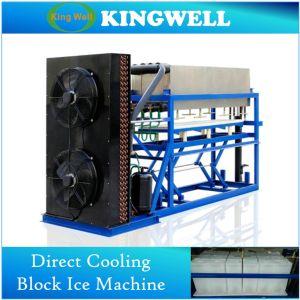 Macchina di ghiaccio asciutto utilizzata industriale personalizzata del blocchetto della macchina del ghiaccio in pani per la Malesia