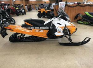 2018 Skidoo Ренегатских Adrenaline Ripsaw 1,25 Rotax 600 Н.О. E-Tec Rev-Xs White-Orange на снегоходе.