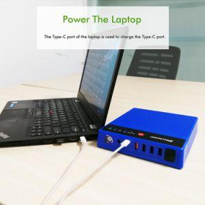 Commerce de gros Pd Banque d'alimentation chargeur de stockage pour ordinateurs portables 40000mAh