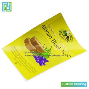 Custom печать частного мыло водонепроницаемый наклейка этикетки
