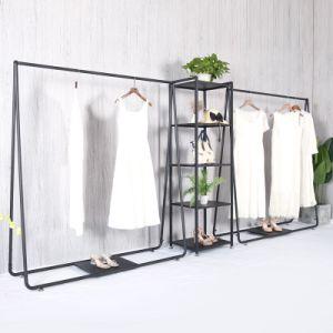 Europen Style simple barre horizontale Portemanteau en métal