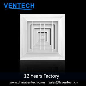 Diffusore di alluminio dell'aria di ritorno del quadrato 4-Way di Ventech di alta qualità