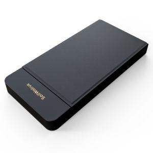 Cargador de teléfono móvil de alta calidad de la carga rápida Banco de energía inalámbrica 8000mAh para teléfono móvil