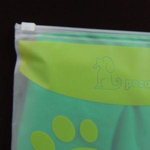 厚いゆとりPVCジッパーロックの衣服のパッキング袋