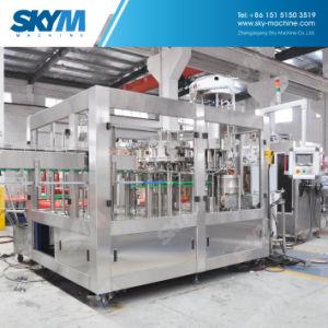 満ちるフルオートマチックの清涼飲料の液体の注入口の飲料パッキング機械を作る