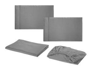 Pulido de los fabricantes de microfibra, cama Queen Size 4 PC Sábanas