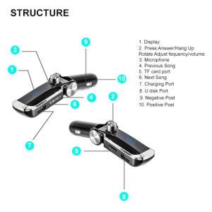 Bluetooth無線FMの送信機二重USB TFのカードのMP3プレーヤー