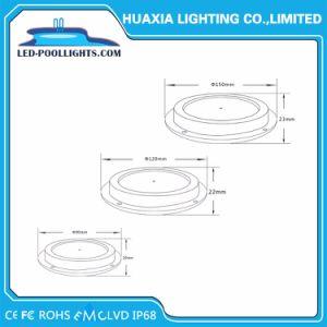 RGB IP68 AC12V 6W 8W 18W Piscina LED Lámpara Luz subacuática