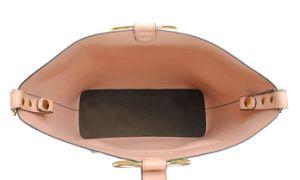 Venta caliente dama moda PU Crossbody clásico bolso con anilla de metal