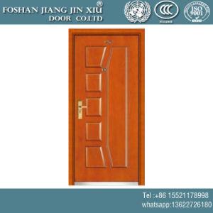 Porta antincendio d'acciaio di plastica del PVC del composto del MDF per stanza