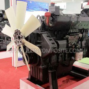 Glasverstärkte Nylon-PAG-Schaufel-axialer Motor-Antreiber