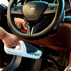 12V CC seca y húmeda de la pantalla táctil inalámbrico portátil coche aspiradora