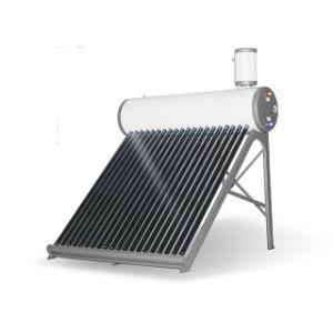 Split presión calentador de agua solar de tubos de vacío con depósito de agua