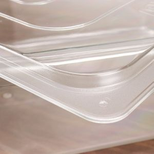 Hôtel Restaurant de l'équipement de cuisine de qualité alimentaire Gastronorm conteneurs en plastique acrylique