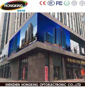 P10 de haute qualité à l'extérieur LED en couleur pour la publicité d'affichage vidéo