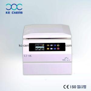 De nieuwste LEIDENE Microhematocrit Met lage snelheid van het Laboratorium van de Desktop L2-6K Serologische Digitale Vertoning centrifugeert voor het Scheiden van Cellen