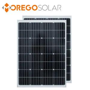 중국 제조자 Moregosolar 단청 12V 100W 태양 전지판 모듈