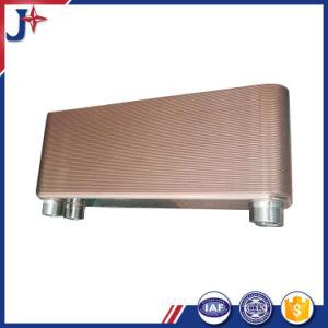 ヒートポンプに水をまく水のための銅によってろう付けされる版の熱交換器