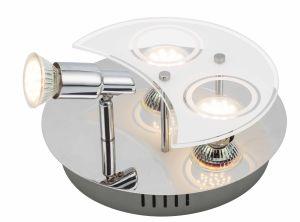 des Eisen-2*GU10 maximaler 35W Scheinwerfer Satin-des Nickel-GU10 mit Vierecks-Unterseite