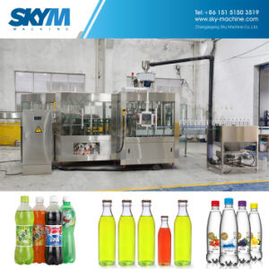 250ml 500ml Bottle Carbonated Soft Water Drink Bottling Machine Line Plant