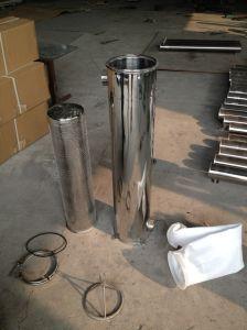 RO 물 장비를 위한 다른 크기 Ss 부대 필터 주거