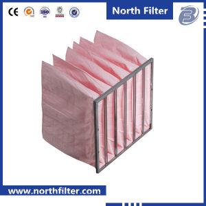 Стекловолокно V-образный мешок фильтра для промышленного кондиционирования воздуха