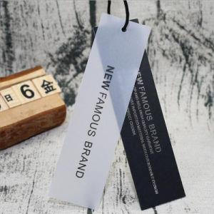 광저우 Shangpin에서 입기를 위한 100%년 Recyled 고품질 걸림새 꼬리표