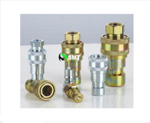 L'iso Rapido-disconnette Coupling (Steel) e Stainless Hydraulic Quick Coupler