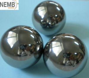 Bille en acier inoxydable/chrome pour l'électronique
