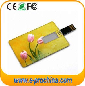 Mecanismo impulsor al por mayor del flash del mecanismo impulsor de la pluma de la tarjeta de instrucciones 32GB del USB de la tarjeta para la muestra libre (EC050)