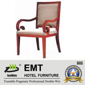 Chaise en bois pour meubles d'hôtels Chaise pour salle de réunion (EMT-HC18)
