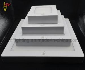 Nuovo Ce RoHS SMD 6W 12W 15W 18W e quadrata di 24W indicatore luminoso di comitato montato superficie ultra sottile rotonda della parete LED per l'indicatore luminoso di soffitto del LED che &Lighting