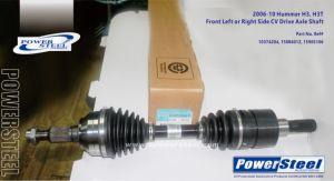 10374204-15886012-15905106-CV Antriebsachse-Welle für Hummer H3-Powersteel; Hummer H3 2006-2010hummer H3t 2009-2010