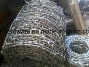 China certificadas pela norma ISO 9001 de arame farpado galvanizado