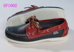 Men's Soft couro genuíno de alta qualidade Boat Shoes