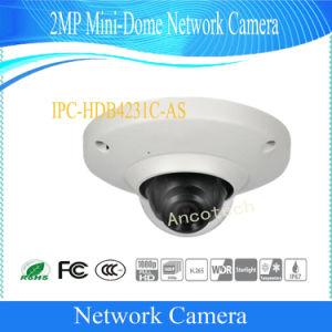 IP van de mini-Koepel van Dahua 2MP de Camera van de Koepel van de Veiligheid van het Netwerk van kabeltelevisie (ipc-hdb4231c-ZOALS)