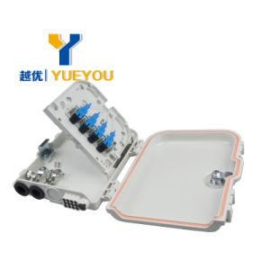 FTTX 8 Fusiones 1*8 PLC Splitter Sellado Mecanico Caja de Distribucion o Terminacion Optica