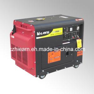 3kw 휴대용 침묵하는 공기에 의하여 냉각되는 디젤 엔진 발전기 세트 (DG3500SE)