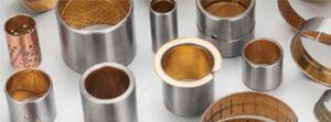 Eingewickeltes zusammengesetztes schiebendes Peilung, Kupfer-Überzogenes oder verzinntes Stahl/bimetallisches Buchse Vsb-80 Bimetall Bronze– Gleitlager Paliers zerkleinert