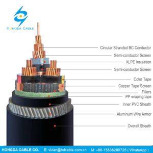 N2xser 18/30kv2y cabos de alimentação de média tensão - Condutores de cobre