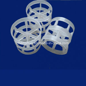 Пластмассовые кольца седла Intalox как химические Случайные упаковки в корпусе Tower