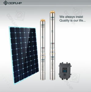 11kw AC solaire pompe submersible de la pompe de puits profond
