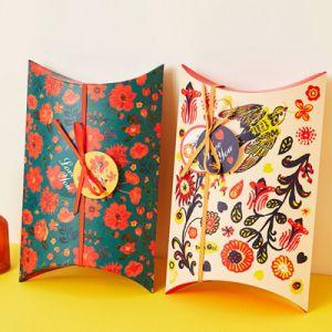 Le nouveau papier boîte cadeau de mariage Paquet Candy Box Wrap Sacs de Nouvel An bébé douche Kids Birthday Party en faveur des cadeaux pour les clients