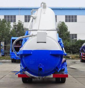 De Vrachtwagen van de Tanker van de Riolering van het Merk 4X2 LHD/Rhd 6cbm van Dongfeng