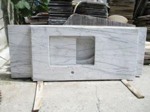 Marmer Laminaat Tegels : Het witte grijze beige prefabgraniet van carrara marmer laminaat