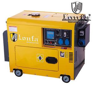 Высокая мощность низких Noisee 5.5kVA Desiel генератор с колеса