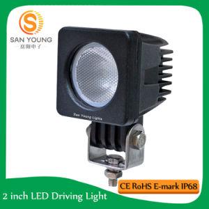 10W 10-30V 900lm 6000k CREE LED lampe de travail, lampe tracteur hors route, projecteurs étanches pour voiture
